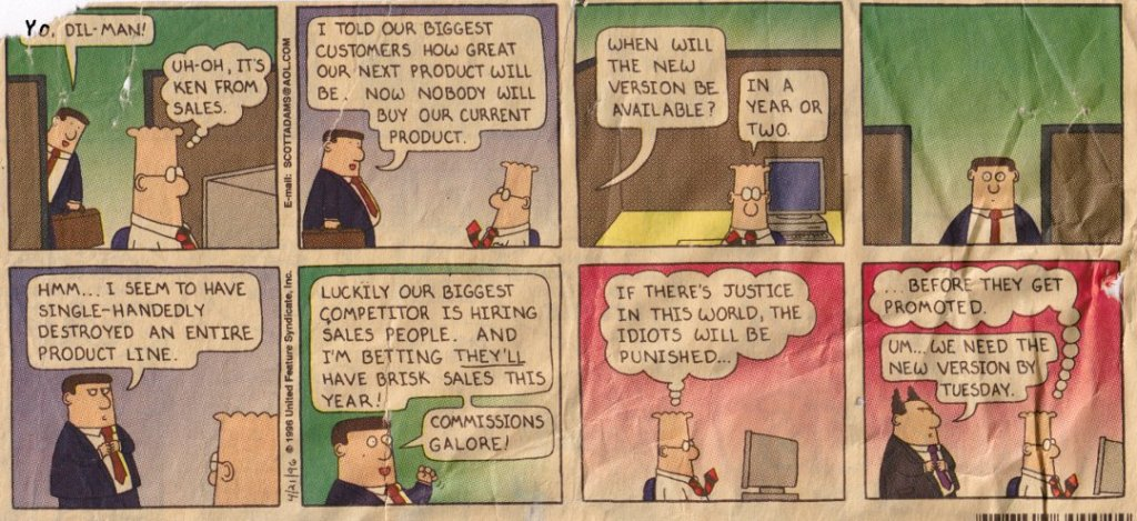 product management cartoon