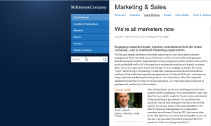 McKinsey screenshot